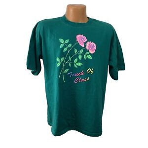 Vintage 1980s Touch of Class T Shirt 80s 90s single stitch XL