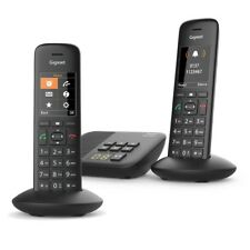 Gigaset Premium C570A DECT Cordless Phone Answer Machine Loud Speaker 2 Handset
