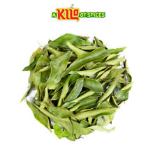 Dried Curry Leaves Natural Aromatic Organicially Grown A* Grade 25g - 10kg
