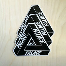 Palace skateboard sticker decal bumper London black 56K Supreme Huf tri-flag