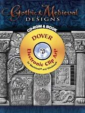 NEW - Gothic & Medieval Designs CD-ROM and Book (Dover Electronic Clip Art)