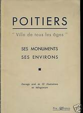 POITOU CHARENTES POITIERS VILLE DE TOUS LES ÂGES