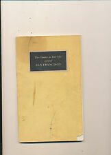 #263 misc 1948 book san francisco ca chapter in my life tourist guide 105 pages