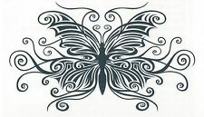 BUTTERFLY TRIBAL  Temporary Tattoo