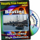 Boating-HD Royalty Free Video Stock Footage, Commercial