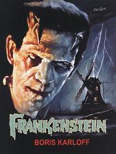 Frankenstein (1931)  Boris Karloff cult Horror movie poster print 4