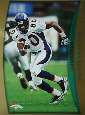 NFL 170 Rod Smith Denver Broncos Topps 1998