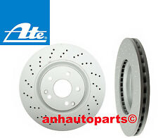 Set of 2 ATE Brand  Front Brake Rotors for models with  Sport Package