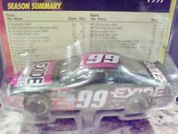 """RARE"" Collectable Hot Wheels 1997 #99 Jeff Burton Exide 1:64 Diecast NASCAR"