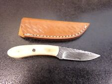 New Valley Forge Damascus 7' Fixed Blade Knife #Vfd-56Sb (K-11)Tbd