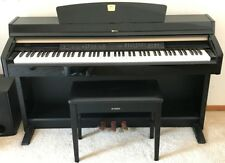 Yamaha Clavinova CLP-240 Digital Piano Polished Ebony with Bench