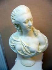 buste  comtesse Du BARRY patiné SCULPTURE statue staff (platre armé) H50cm DECO