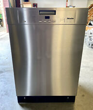 Miele Classic Series G4228Scu 24 Inch Built-In Dishwasher Stainless Steel