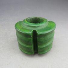 Chinese jade,turquoise,natural jade,Hongshan culture,cong,pendant V907