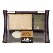 6 X Maybelline Expert Wear Eyeshadow Duo - 90D Sunkissed Olive