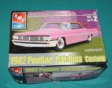 1962 Pontiac Catalina Custom AMT 1/25 Complete & Unstarted.