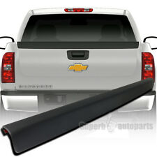 2007-2014 Silverado 2500 Truck Tailgate Protector Cap High Quality ABS Black