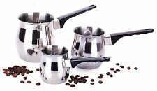 Turkish Coffee 3 Piece Stovetop Warmer Pot- Butter Warmers