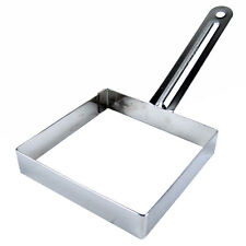 Stainless Steel Square Egg Frying Mold Cooking Tools Toast Making Tool Sandwich