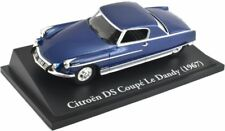 ATLAS EDITIONS CLASSIC SPORTS CARS CITROEN DS DANDY 1967 BLUE KL31