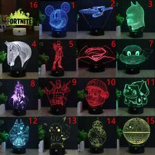 Star Wars 3D Acrilico LED 7Colore Luce Notturna Scrivania Lampade Regalo