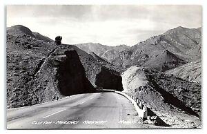 RPPC Clifton-Morenci Highway, Morenci, AZ Real Photo Postcard *7C(2)3