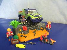 4221 desiertos Ralley pick up Jeep con suspensión figuras accesorios Playmobil 2208