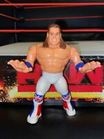 WWE THE BRITISH BULLDOG HASBRO WRESTLING FIGURE WWF SERIES 4 1991