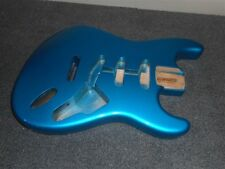 NEW - Fender Strat Body, Tremolo Routing - LAKE PLACID BLUE, #SBF-LPB
