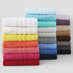 Ralph Lauren Palmer Bath Towel Collection 100% Plush Cotton COLORS / SIZES