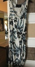 Thakoon Womens Rouched Blue And White Sheath Dress Bnwt Xs