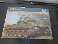 """Italeri 1/35 M24 Chaffee Decals for 5 Versions # 6431 """"2010"""" New Sealed"""