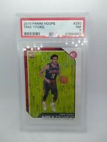 Trae Young 2018-19 Panini NBA Hoops #250 PSA 7 ROOKIE RC Atlanta Hoops!