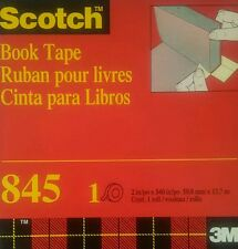 3M 845 Bookbinding Tape 2 In X 15 Yd, book tape 540 in
