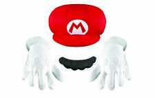 Disguise Super Mario Bros Child Boys Accessory Kit Halloween Costume 73771