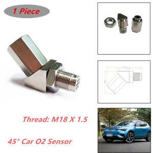 M18 X 1.5 Car O2 Sensor Adapter Catalytic Exhaust Bung Fix Check Engine Light