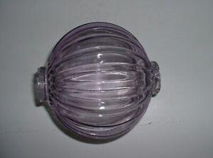 SCA Five Inch Pumpkin Lightning Rod Ball
