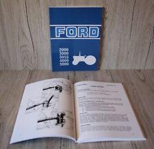 Ford Bedienungsanleitung Traktor 2000 3000 3055 4000 5000 .