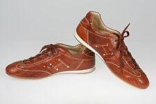Hogan Snakeskin Logo Tie Shoes Size 9 medium STRIKING Casual Womens Shoes $425