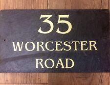 Número de direcciones de placa de pizarra nombre nombre de la casa para su hogar de alta calidad!!!
