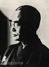 1936/66 Vintage D.T. SUZUKI Zen Buddhism Author Photo Art ~ ALVIN LANGDON COBURN