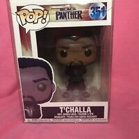 Funko Pop #351 Black Panther T'Challa Black Robe  NEW with Protector