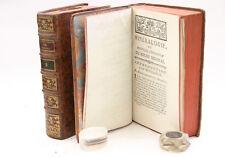 SCIENCES Minéralogie VALMONT DE BOMARE 1774 Livre ancien Tableaux dépliants