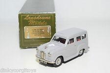 . LANSDOWNE MODELS LDM 18 AUSTIN A30 COUNTRYMAN ESTATE 1955 GREY MINT BOXED