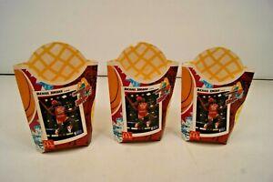 Lot of 3 Vintage - McDonald's Michael Jordan MVP French Fry Boxes