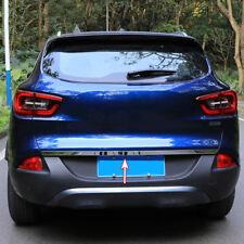 Chrome Tailgate Rear Trunk Door Cover Trim Bezel Molding Fit For Renault Kadjar