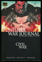 Punisher War Journal Vol 1 Civil War Hardcover HC w/ DJ  Frank Castle New Sealed