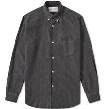 Our Legacy black denim shirt size 52