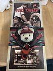 Texaco Bear Plush FIRE CHIEF 3rd Series 1999 Slicker Hat Box Tags New
