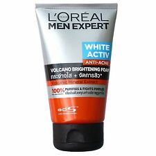 L'Oreal Men Expert White Activ Anti Acne Volcano Brightening Foam 100ml
